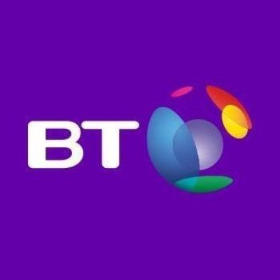Logo for BT