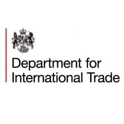 Logo for The Department for International Trade (DIT)