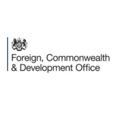 Logo for Foreign, Commonwealth & Development Office (FCDO)