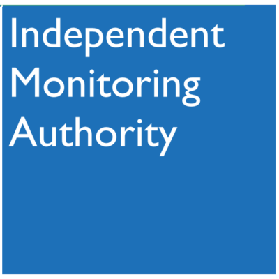 Logo for Independent Monitoring Authority