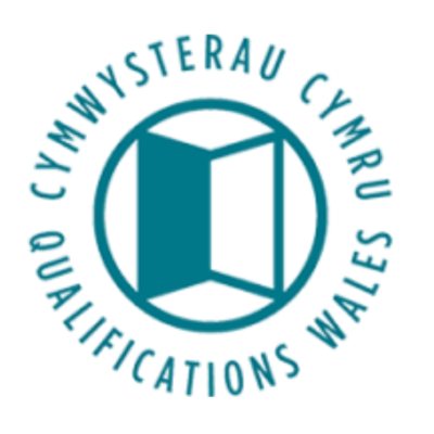 Logo for Qualifications Wales