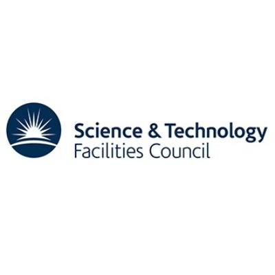 Logo for The Science and Technology Facilities Council (STFC)