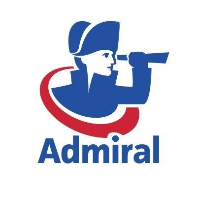 Logo for Admiral Insurance