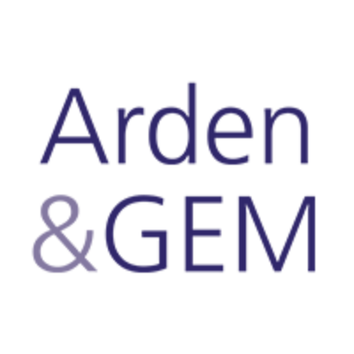 Logo for Arden & GEM