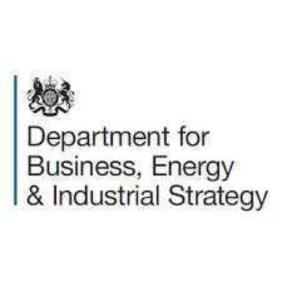 Logo for Department for Business, Energy & Industrial Strategy