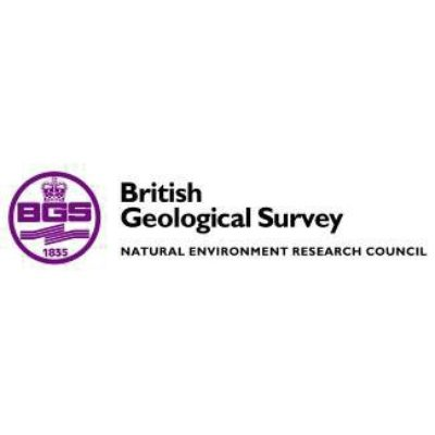 Logo for The British Geological Survey (BGS)
