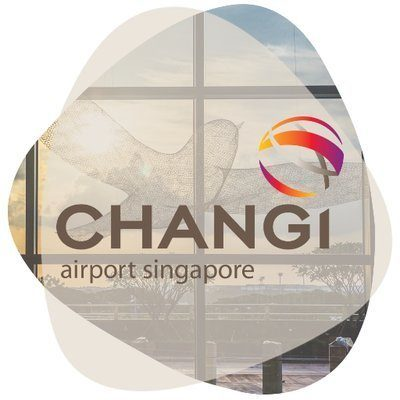 Logo for Changi Airport Group