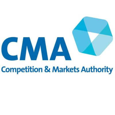 Logo for The Competition and Markets Authority (CMA)