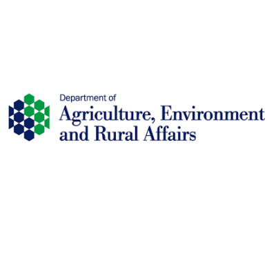 Logo for Department of Agriculture, Environment and Rural Affairs (DAERA)