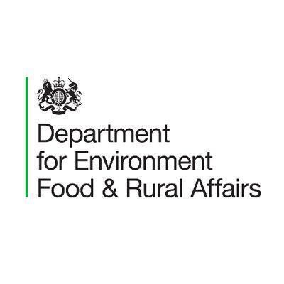 Logo for Department for Environment, Food & Rural Affairs (Defra)