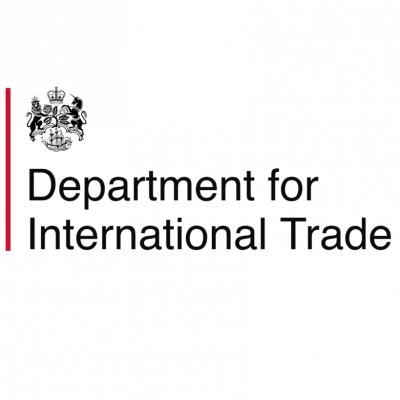 Logo for Department for International Trade