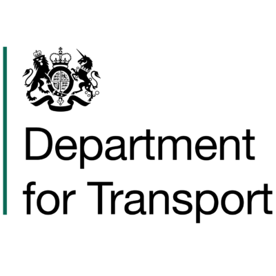Logo for Senior Rail Modeller Department for Transport