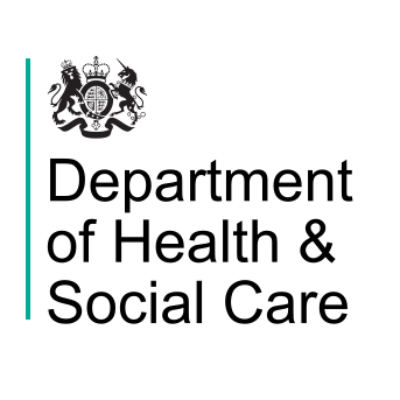Logo for The Department of Health & Social Care