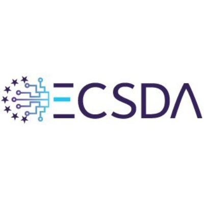 Logo for European Central Securities Depositories Association (ECSDA)