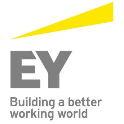 Logo for EY