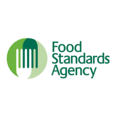 Logo for Food Standards Agency (FSA).