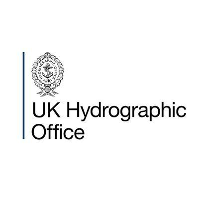 Logo for The UK Hydrographic Office