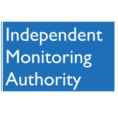 Logo for Independent Monitoring Authority.