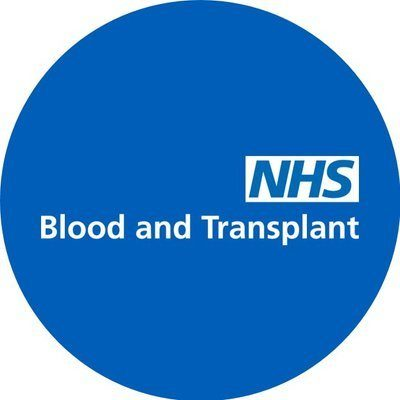 Logo for NHS Blood and Transplant (NHSBT)