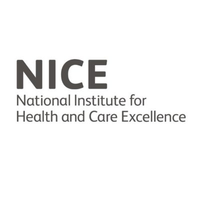Logo for The National Institute for Health and Care Excellence