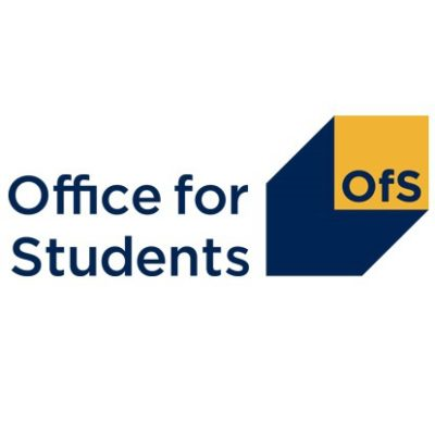 Logo for The Office for Students (OfS)