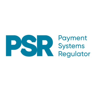 Logo for The Payment Systems Regulator