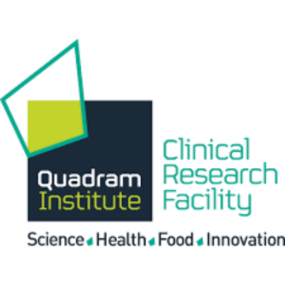 Logo for Quadram Institute Bioscience