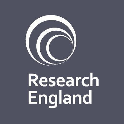 Logo for Research England