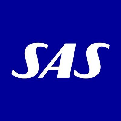 Logo for Scandinavian Airlines System
