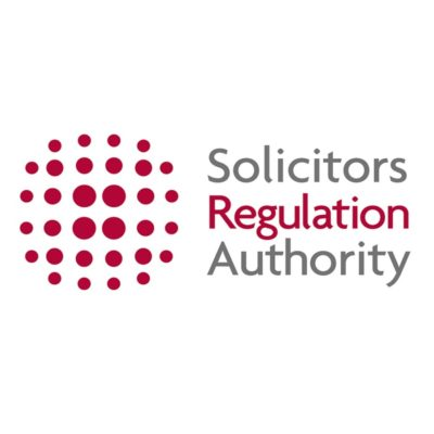 Logo for Solicitors Regulation Authority